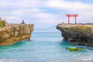 白浜神社と海の写真・画像素材[2366125]