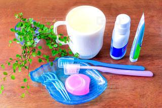 歯磨きセットの写真・画像素材[2438508]