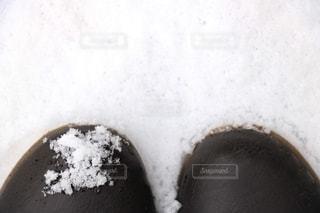 雪とブーツの写真・画像素材[2700453]