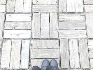 木道とブーツの写真・画像素材[2700503]