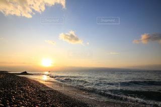 自然,風景,海,空,屋外,太陽,朝日,ビーチ,雲,水面,海岸,光,朝,日の出,朝陽