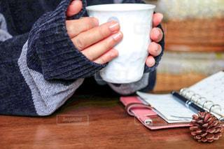コーヒーで一息の写真・画像素材[2891829]
