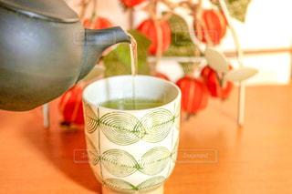 お茶を注ぐの写真・画像素材[3189198]