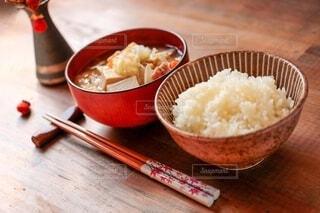 豚汁とご飯の写真・画像素材[4189515]