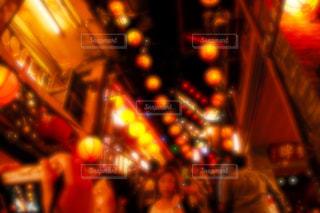 混雑した通りのぼやけた画像 - No.924767