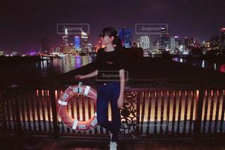 ベトナムの夜景の写真・画像素材[2114091]