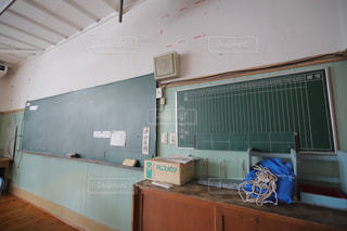 学校,黒板,懐かしい,廃校