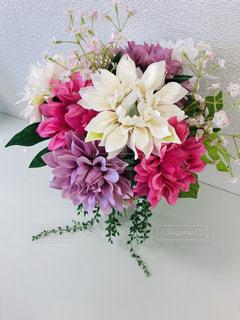 花のクローズアップの写真・画像素材[2142414]