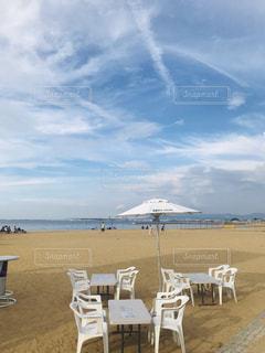 ビーチサイドの空模様の写真・画像素材[2429085]