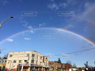 空,屋外,虹,光,可愛い,素敵,希望,日中,ステキ,ひかり