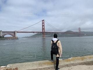 男性,空,屋外,後ろ姿,景色,背中,カリフォルニア