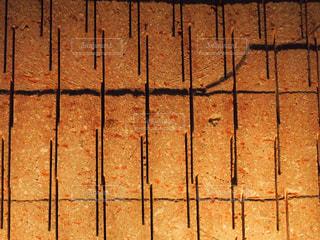 線の入った壁の写真・画像素材[2229871]