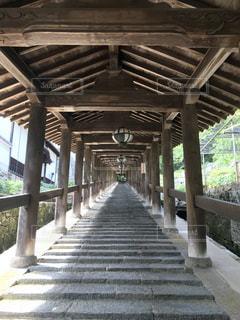 長谷寺の回廊の写真・画像素材[2167250]