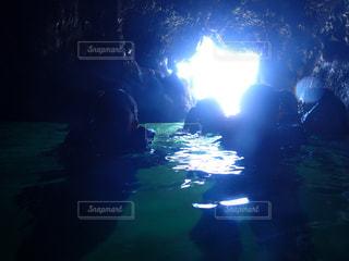 伊良部島の青の洞窟の写真・画像素材[2635297]