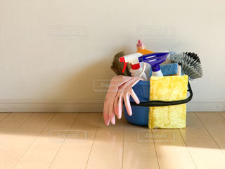 掃除道具の写真・画像素材[3092419]