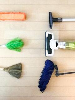 掃除道具の写真・画像素材[3092432]