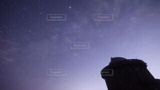 自然,夜,星空,天体,夜明け,天の川,天体観測,アルタイル,デネブ,ベガ,星空撮影,タイムラプス,天の川銀河,夏の大三角形