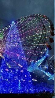 夜景,綺麗,観覧車,可愛い,ファンタジア