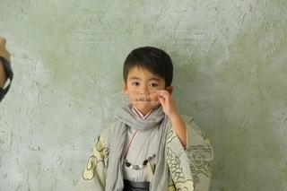 子ども,ファッション,アクセサリー,眼鏡,人物,人,こども,和服,七五三,男の子,ファション,袴,メガネ