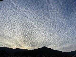 自然,風景,空,夕日,太陽,雲,山,光,夕陽,クラウド,鱗雲