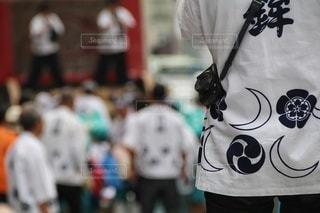 祭りとカメラの写真・画像素材[3464387]