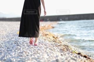 海辺の散歩の写真・画像素材[3565316]