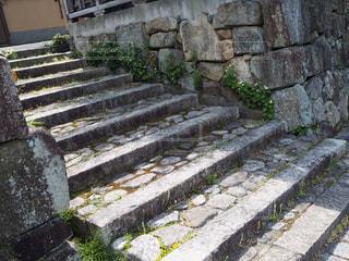 石造りのベンチの写真・画像素材[2176268]