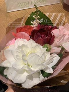 花のクローズアップの写真・画像素材[3090978]