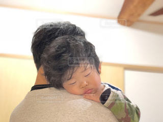 かわいい,子供,癒し,抱っこ,パパ,男の子,2歳,おやすみ,お父さん,父の日,イクメン