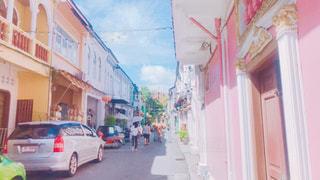海外,カラフル,街,タイ,オールドタウン,おしゃれ,ファンシー