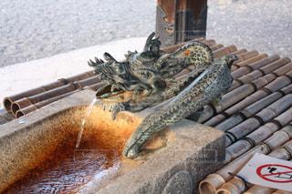 風景,京都,水,旅行,野外,龍,寺