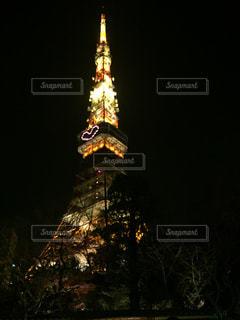 東京タワー,夜景,東京,鮮やか,ハート,キラキラ