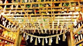 夏の神社の写真・画像素材[3364148]