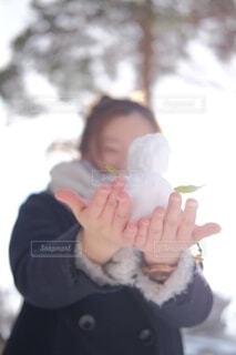 雪だるまの写真・画像素材[4205024]