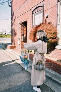 お花購入の写真・画像素材[4223615]