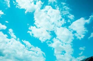 青空の雲の写真・画像素材[3342211]