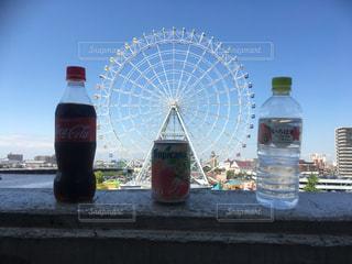 ボトル入り飲料水の写真・画像素材[2142382]