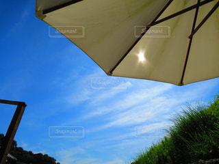 空,傘,パラソル,野外