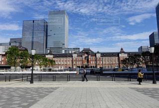 散歩,東京駅,レジャー,お散歩,晴れた日
