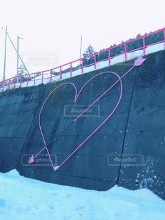 雪,ピンク,かわいい,ハート,矢,ファンシー
