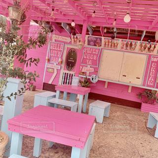 ピンク,沖縄,旅行,可愛い,アメリカンビレッジ,Caffe,映え