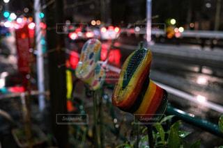 通りのクローズアップの写真・画像素材[2171712]