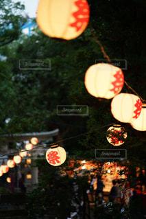 お祭り提灯の写真・画像素材[2459762]
