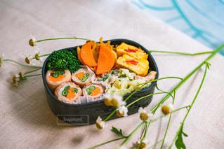 野菜の肉巻き弁当の写真・画像素材[3144937]