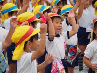 幼稚園の運動会の写真・画像素材[2134182]
