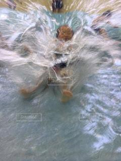 すごい水しぶき‼︎の写真・画像素材[2140959]