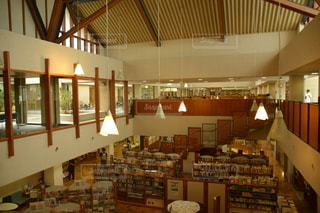 図書館の写真・画像素材[2492652]