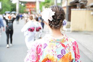 京都,後ろ姿,着物