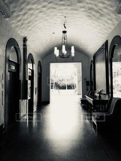 光,アーチ,ホテル,ロビー,フィルム,セピア,フィルム写真,フィルムフォト