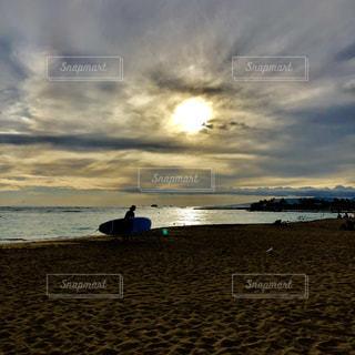 屋外,ビーチ,光,ハワイ,フィルム,フィルム写真,フィルムフォト